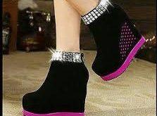 کفش زنانه پاشنه مخفی