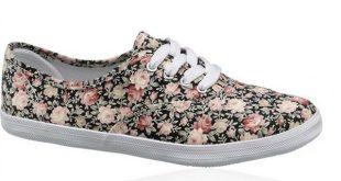 کفش زنانه گلدار
