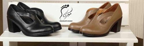 کفش زنانه تابستانی چرم تبریز