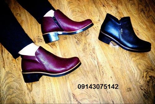 عکس جدیدترین مدل کفش نیم بوت چرم