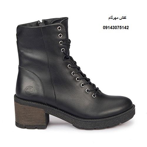 فروش کفش نیم بوت زنانه پاشنه دار شیک