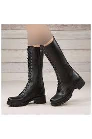 کفش بوت زنانه غیر چرمی