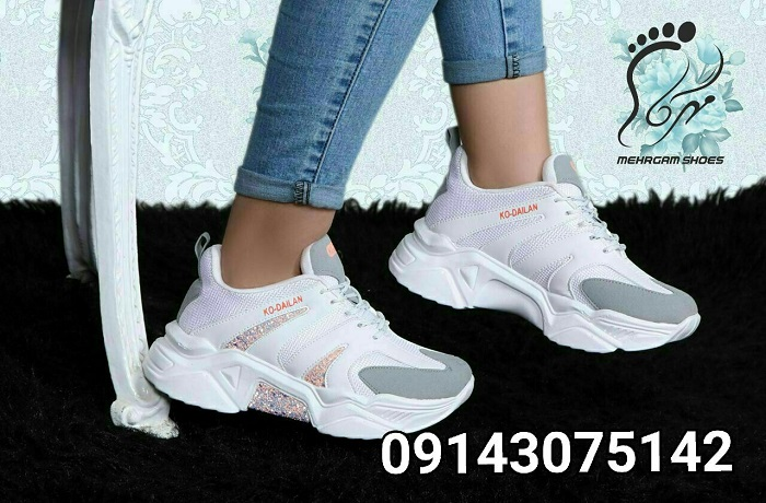 کفش اسپرت زنانه عمده با قیمت باور نکردنی
